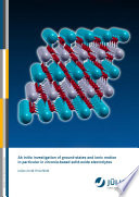 Ab Initio Investigation Of Ground States And Ionic Motion In Particular In Zirconia Based Solid Oxide Electrolytes