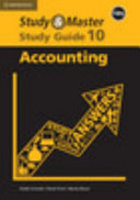 Books - Study & Master Accounting Grade 10 Study Guide Caps | ISBN 9781107425606