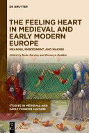 The Feeling Heart in Medieval and Early Modern Europe Pdf/ePub eBook