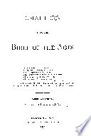 Chapters From The Bible Of The Ages Book