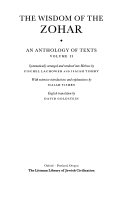 The Wisdom of the Zohar