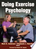 Doing Exercise Psychology