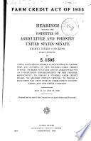 Farm Credit Act of 1953