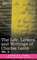 Pdf The Life, Letters, and Writings of Charles Lamb Telecharger