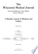 Wisconsin Medical Journal  , Volume 12