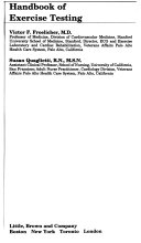 Handbook of Exercise Testing