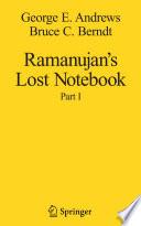 Ramanujan S Lost Notebook