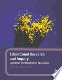 Educational Research And Inquiry Book