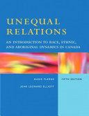 Unequal Relations Book