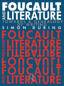 Pdf Foucault and Literature