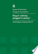 Plug in Vehicles  Plugged in Policy  Book