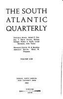 The South Atlantic Quarterly