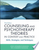 Counseling And Psychotherapy Theories In Context And Practice Book