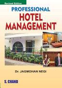 Professional Hotel Management   P B