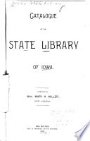 Catalogue Of The Iowa State Library