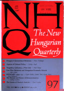 NHQ  the New Hungarian Quarterly
