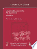Structure Elucidation by Modern NMR
