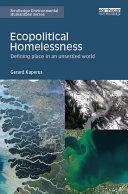 Ecopolitical Homelessness Pdf/ePub eBook