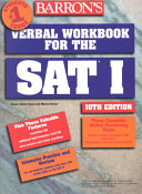 Barron s Verbal Workbook for the SAT I Book