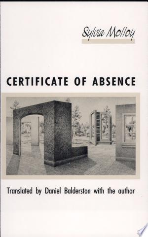 Download Certificate of Absence Free Books - Dlebooks.net