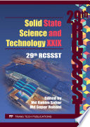 Solid State Science and Technology XXIX