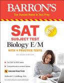 SAT Subject Test Biology E M