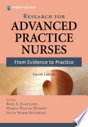 Research For Advanced Practice Nurses Fourth Edition