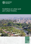 Guidelines on urban and peri urban forestry