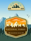 National Parks Coloring Book Book