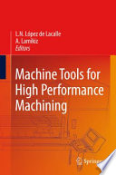 Machine Tools for High Performance Machining Book