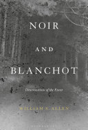 Pdf Noir and Blanchot Telecharger