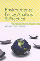 Environmental Policy Analysis And Practice Book PDF