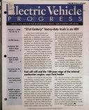 Electric Vehicle Progress