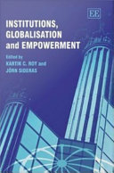 Institutions  Globalisation and Empowerment