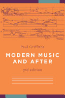 Pdf Modern Music and After