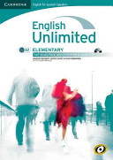 English Unlimited for Spanish Speakers Elementary Self study Pack