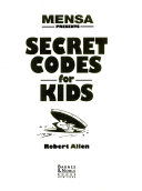 Mensa presents secret codes for kids