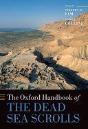 Pdf The Oxford Handbook of the Dead Sea Scrolls