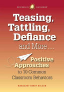 Teasing  Tattling  Defiance and More
