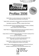 Asialaw Profiles Book