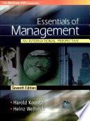 """""""Essentials Of Management"""" by Harold Koontz, Heinz Weihrich"""