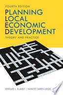 Planning Local Economic Development Book