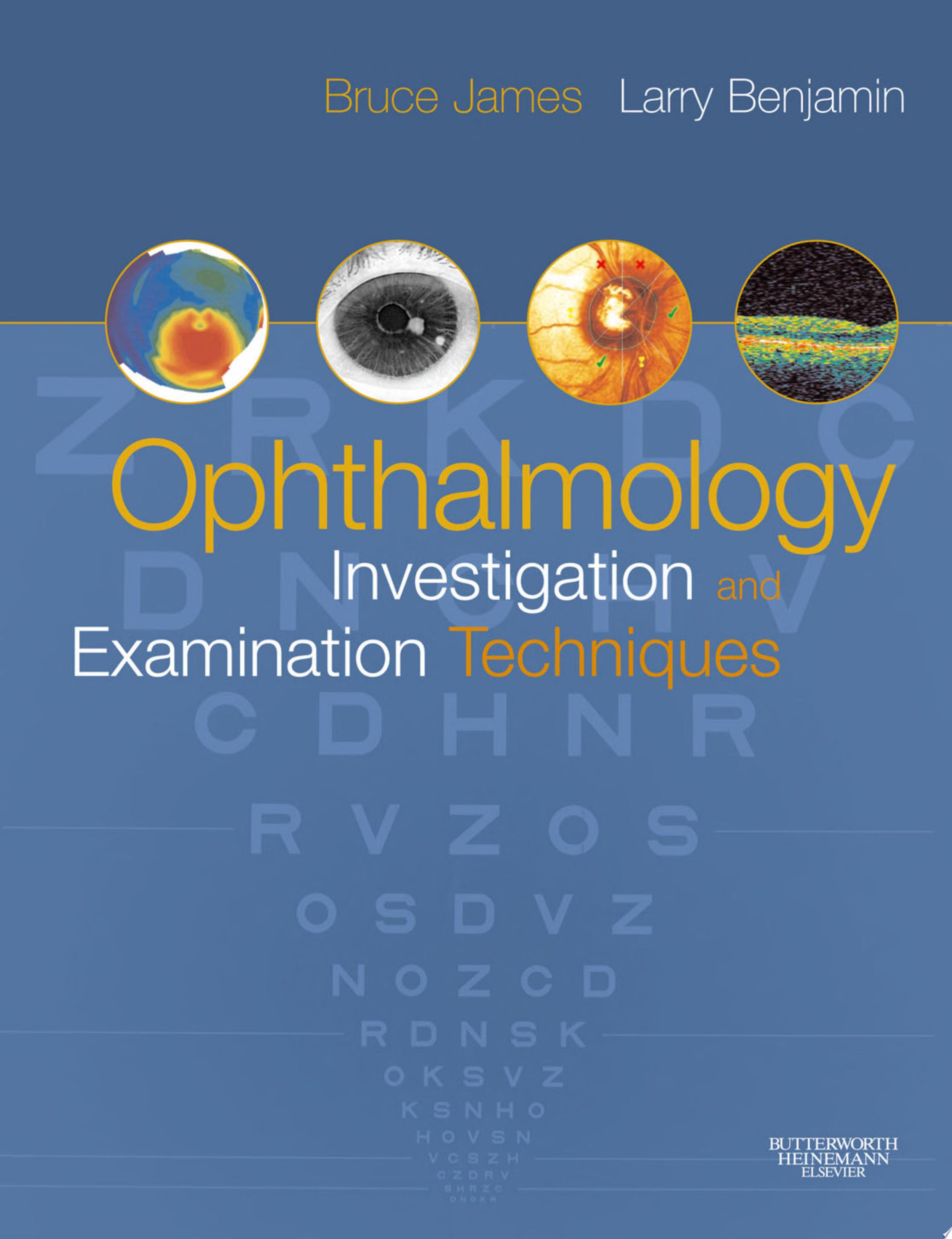 E Book   Ophthalmology  Investigation and Examination Techniques