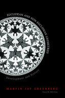 Euclidean and Non-Euclidean Geometries