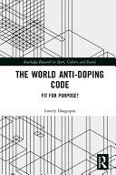 The World Anti-Doping Code Pdf/ePub eBook