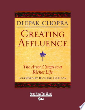 Download Creating Affluence Books - RDFBooks