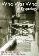 Who was who in Egyptology