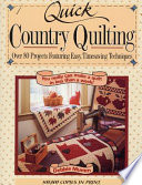 Quick Country Quilting Book