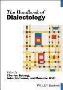 The Handbook of Dialectology Pdf/ePub eBook