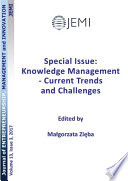 Special Issue  Knowledge Management   Current Trends and Challenges Book